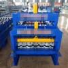 泊头兴和定做800型琉璃瓦压瓦机/防树脂彩钢板压瓦机